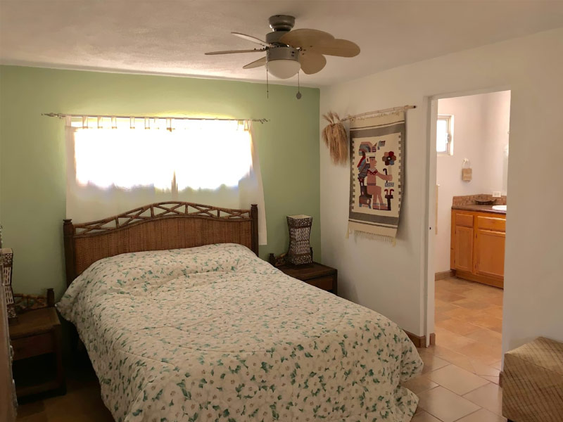 Casita Garden for rent La Ventana at Sargento