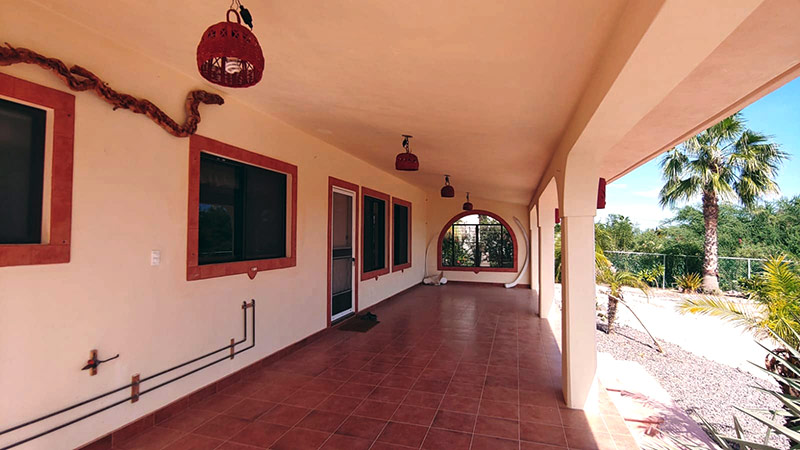 Casa Miramar for rent La Ventana at Sargento